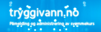 Påmelding svømmekurs på www.Tryggivann.no